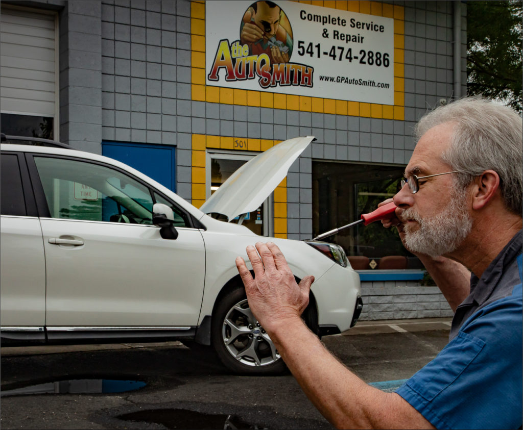 Autosmith fixes a car